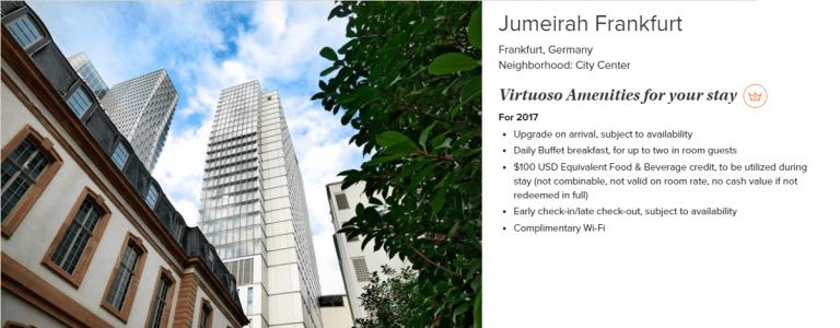 Beispiel Jumeirah FFM