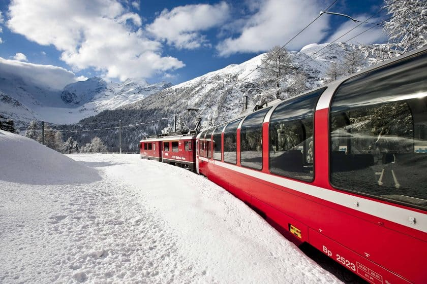 Rhaetische Bahn: Bernina Express Berninalinie