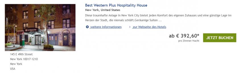 Best Western Hospitality House