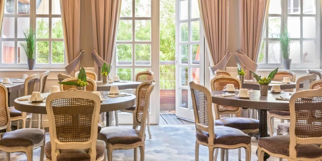 Best Western Villa d'Est Frühstücksraum