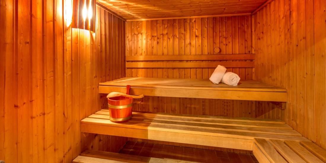 Best Western Villa d'Est Sauna