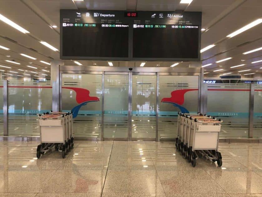 Bewertung Air Koryo Flughafen Pjongjang