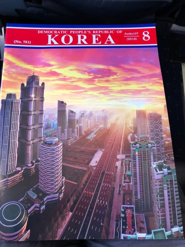 Bewertung Air Koryo Magazin