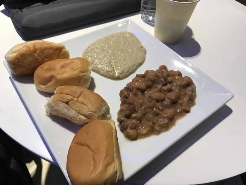 Bewertung EgyptAir Business Class A330 BKK CAI EgyptAir Lounge 5