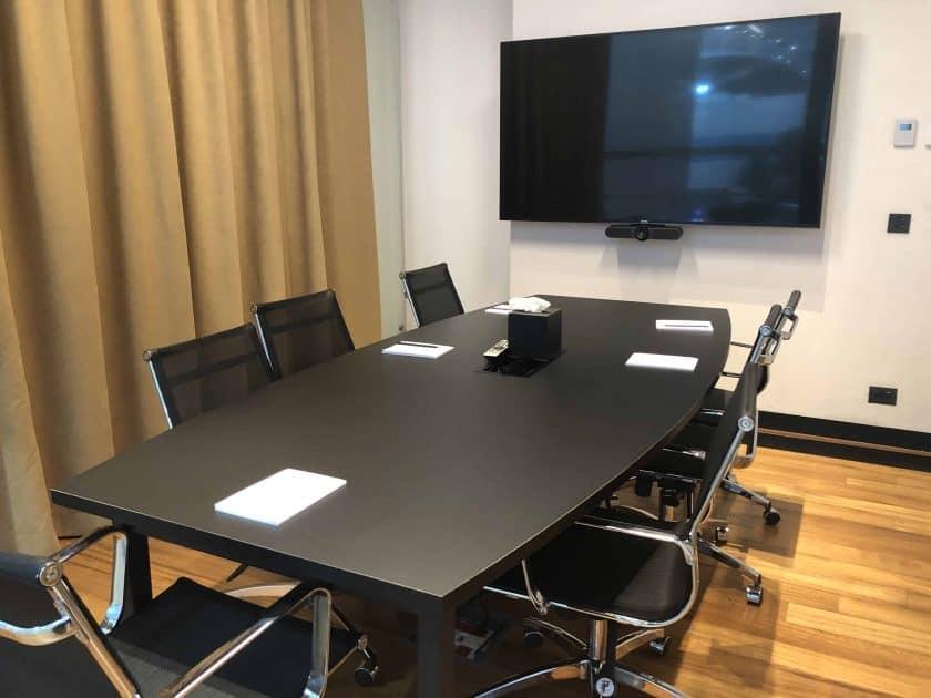 Bewertung TK Lounge Konferenzraum innen