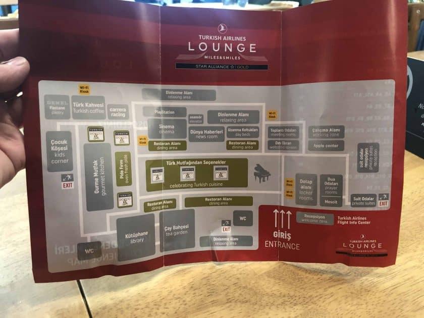 Bewertung TK Lounge Lageplan