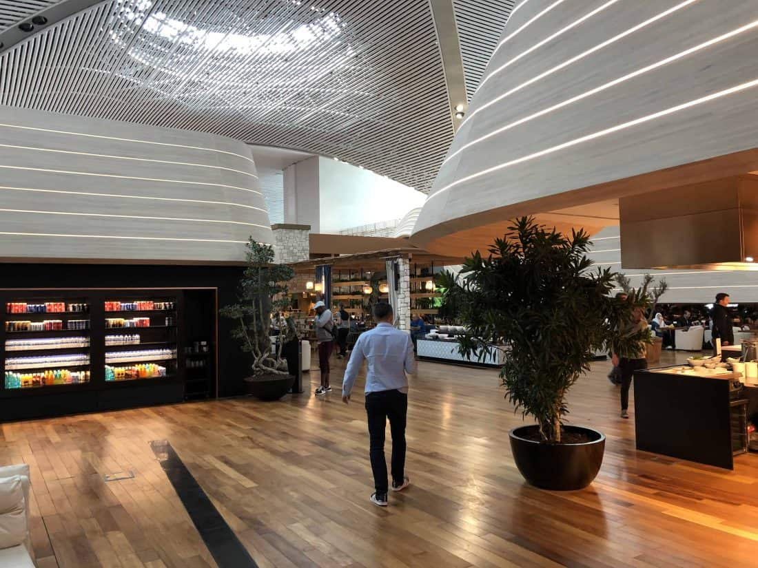 Bewertung TK Lounge Lounge Eingangsbereich