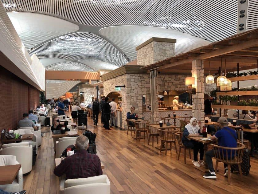 Bewertung TK Lounge Restaurantbereich