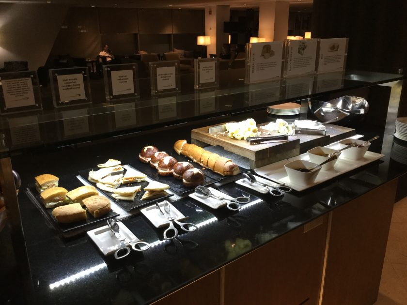 Cathay Pacific Business Class Lounge