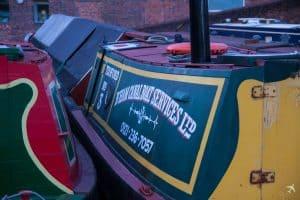 Canal Boat - Birmingham