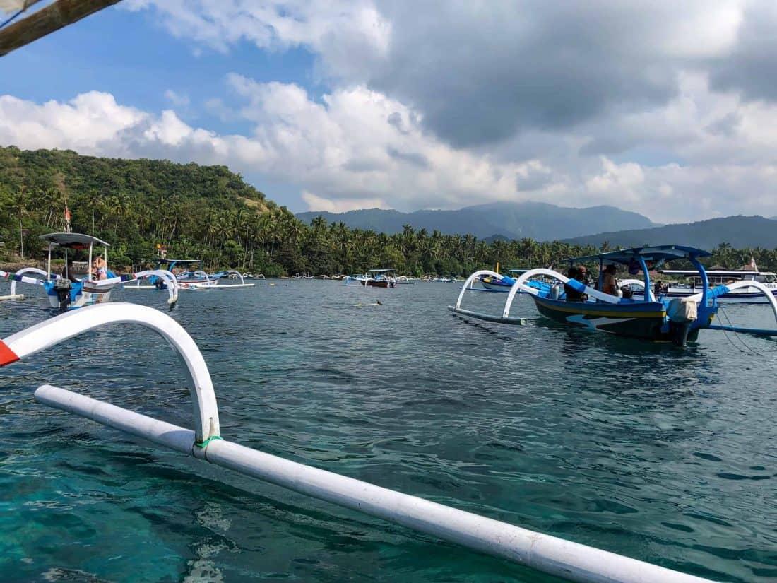 Blaue Lagoone Bali