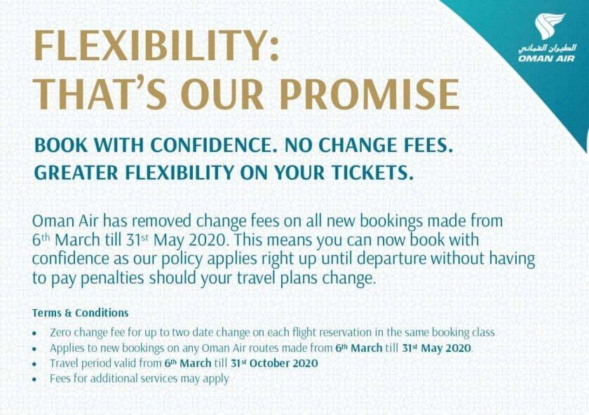 Booking Flexibility March 2020 English