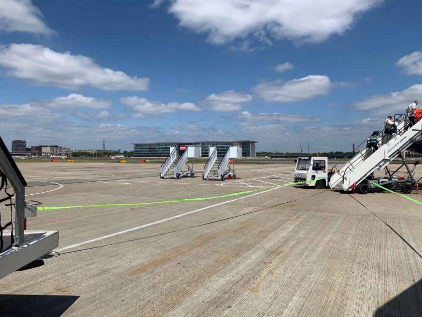 British Airways BA1 Boarding