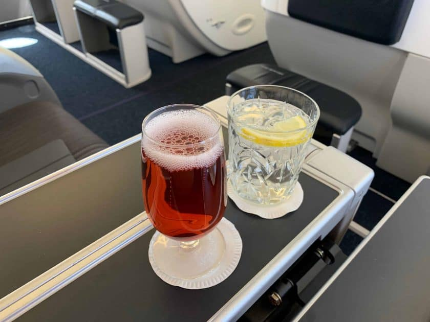 British Airways BA1 Drink
