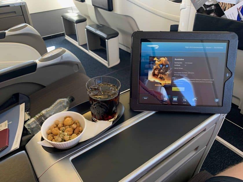 British Airways BA1 Entertainment