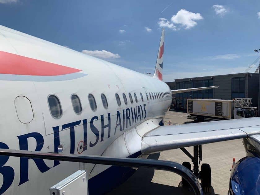 British Airways BA1 Flugzeugbemalung