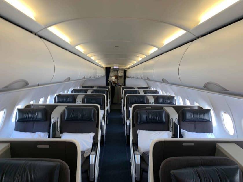 British Airways BA1 Kabine
