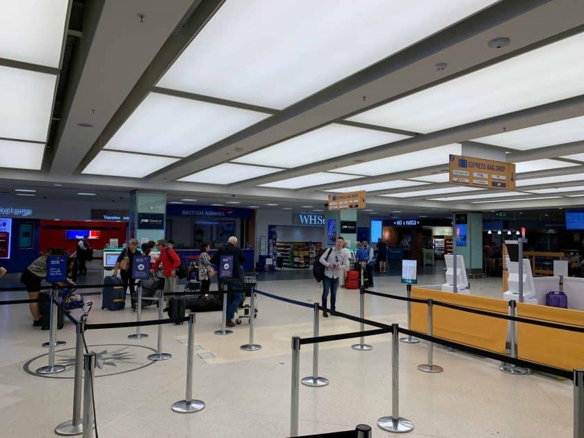 British Airways BA1 Schlangen London City