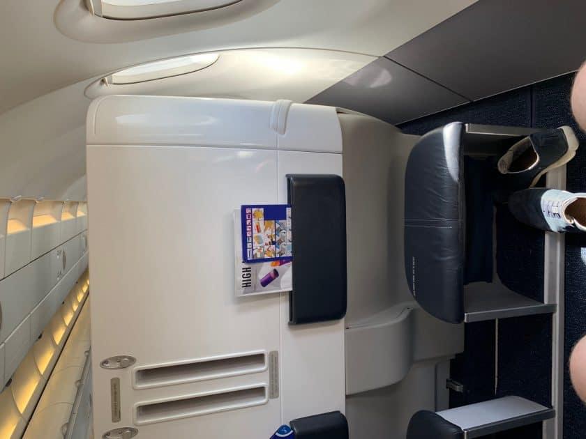 British Airways BA1 Sitzabstand