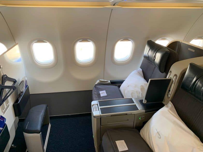 British Airways BA1 Sitzplatz