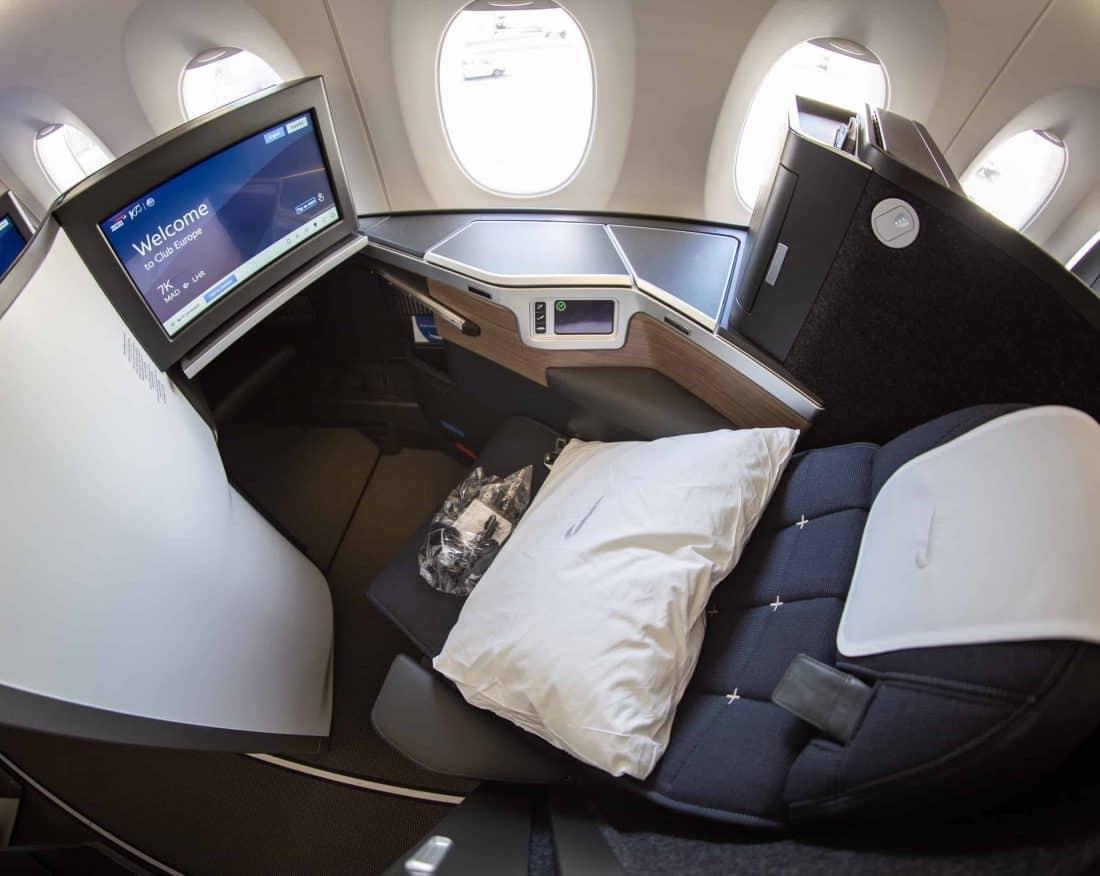 British Airways Club Suite Seat 3