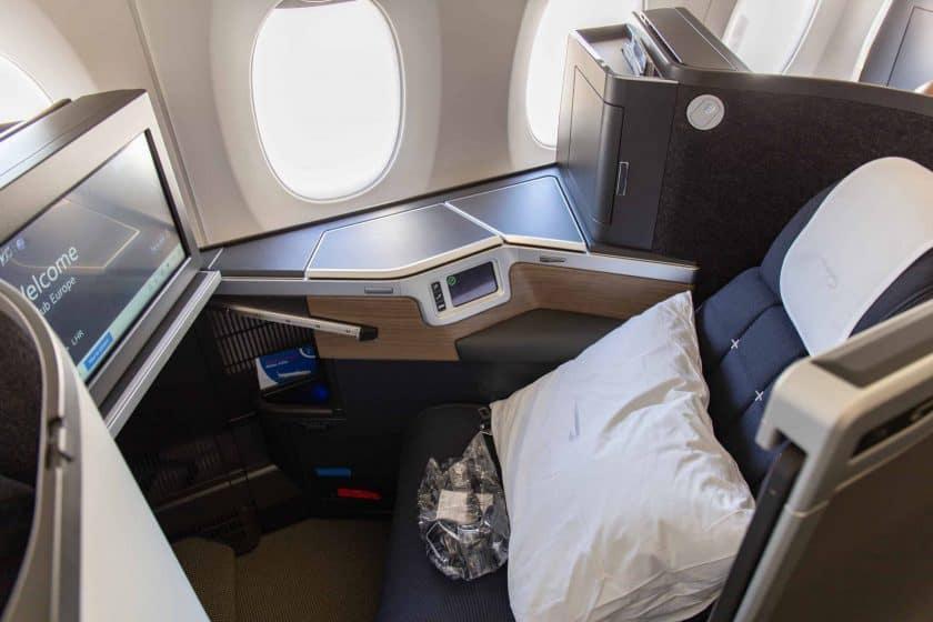 British Airways Club Suite Seat 4