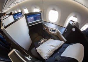British Airways Club Suite Seat Window