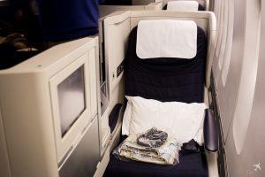British Airways Club World Sitz
