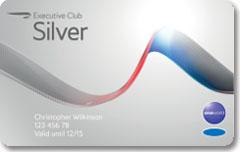 British Airways Executive Club Silver