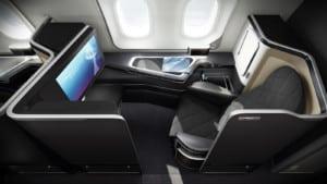 British Airways First Class Sitz Boeing 787