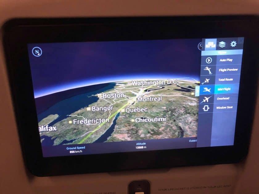 British Airways Prem Eco Bewertung Airshow