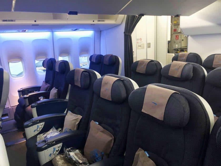 British Airways Prem Eco Bewertung Kabine