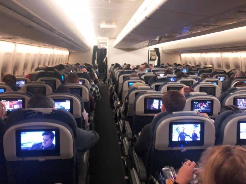 British Airways Prem Eco Bewertung Kabine Premium