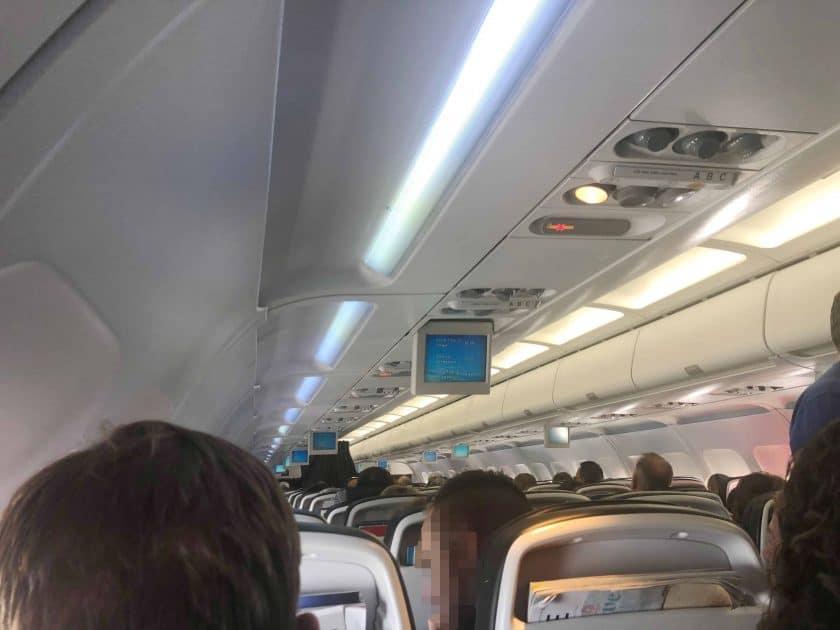 British Airways Prem Eco Bewertung London Flug