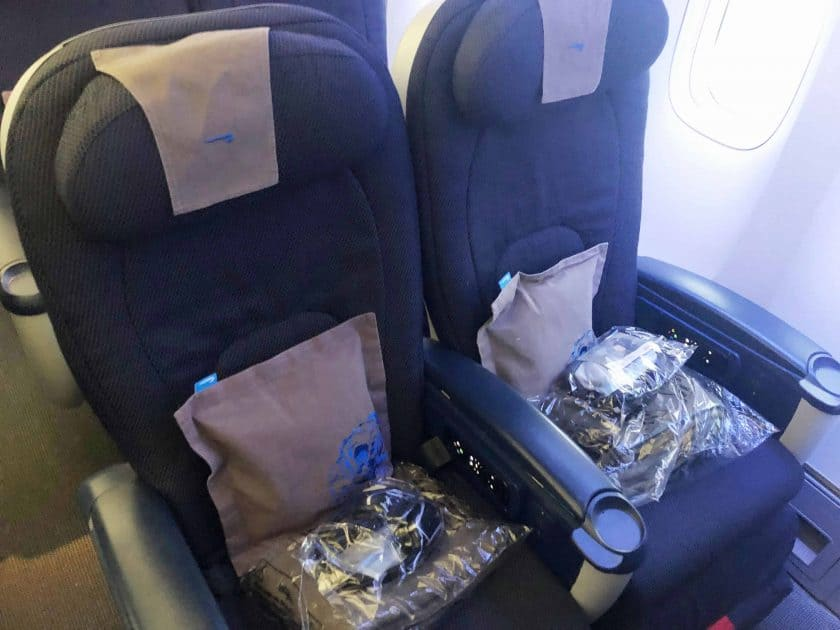 British Airways Prem Eco Bewertung Sitz