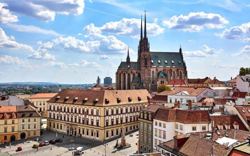 Altstadt von Brünn in Tschechien