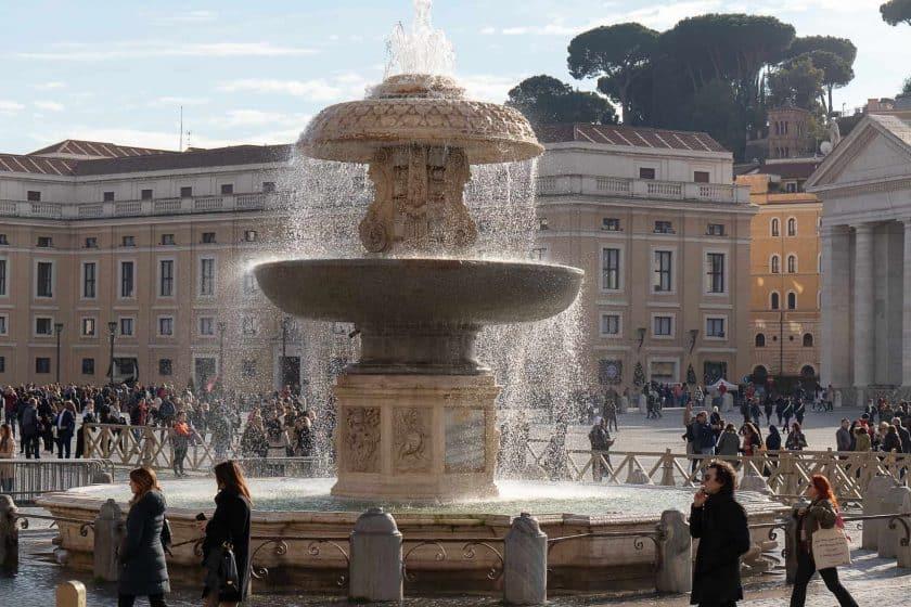Brunnen Petersdom Rom