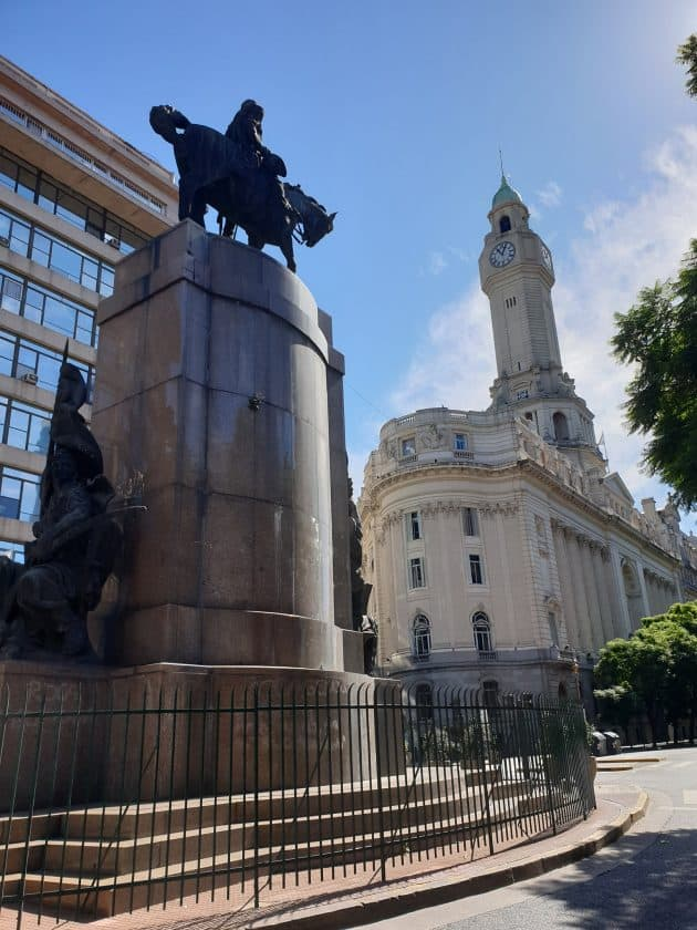 Buenos Aires Leere Strassen 1