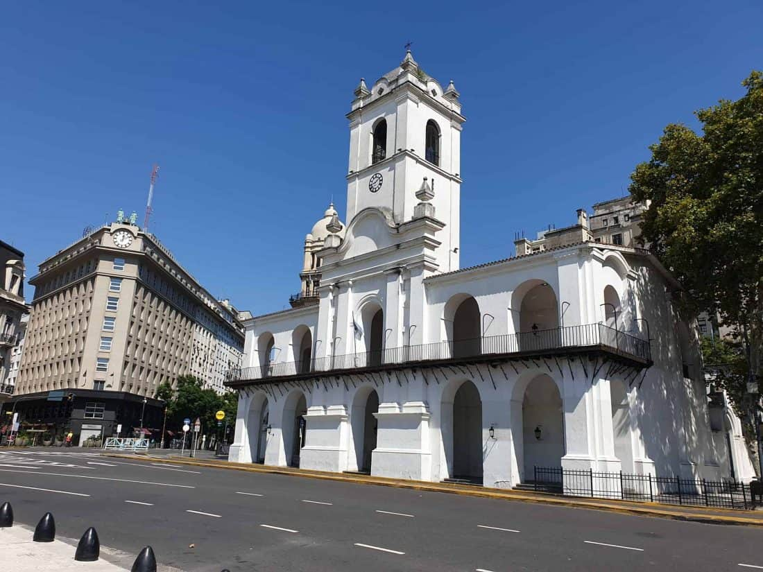 Buenos Aires Wie ausgestorben