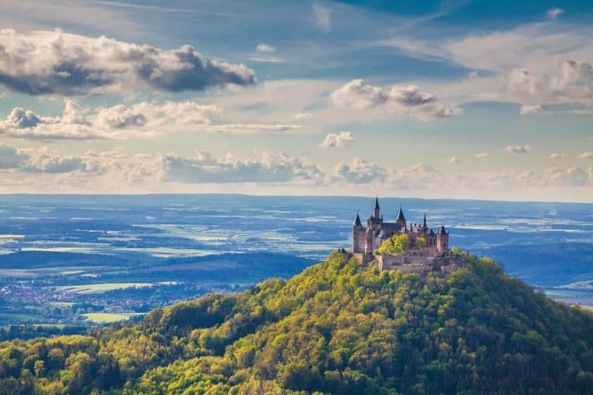 Burg Hohenzollern, Baden-Wurttemberg