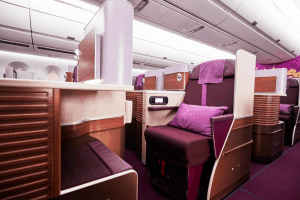 Business Class A350 Thai Airways