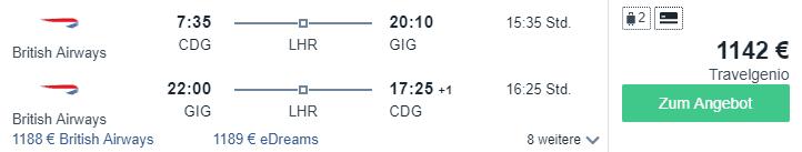 CDG GIG 1142