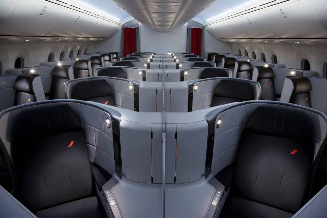 Air France 787 Business Class