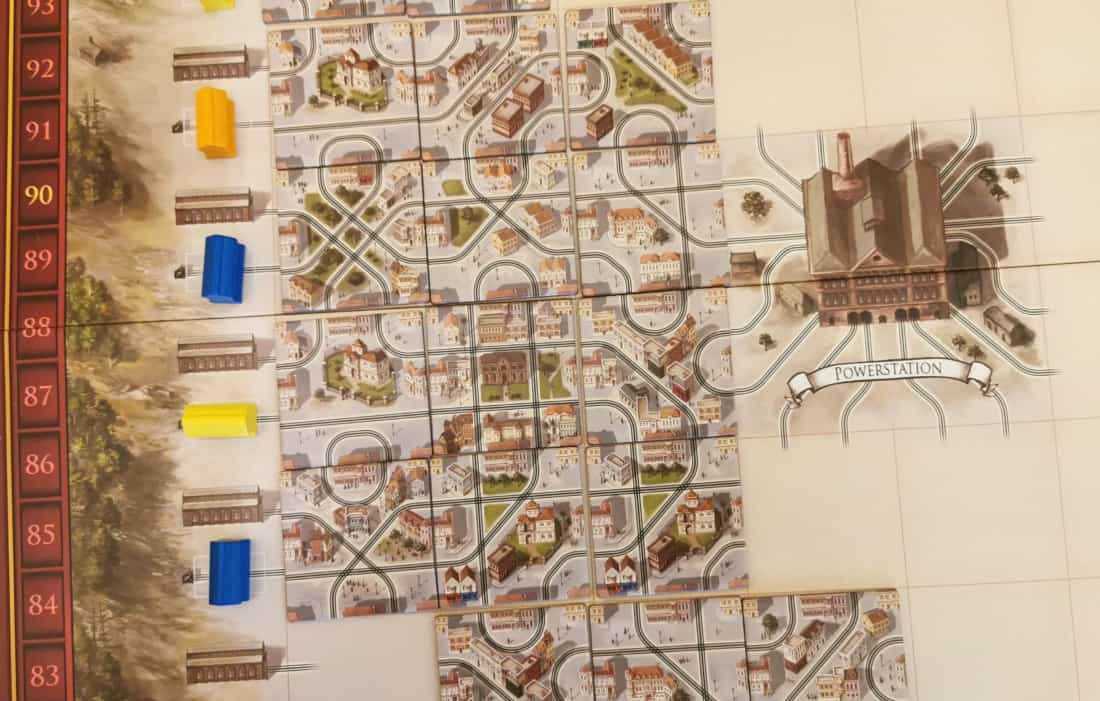 Cable Car Brettspiel