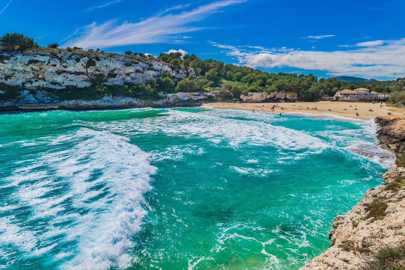 Cala Romantica, Mallorca, Spanien