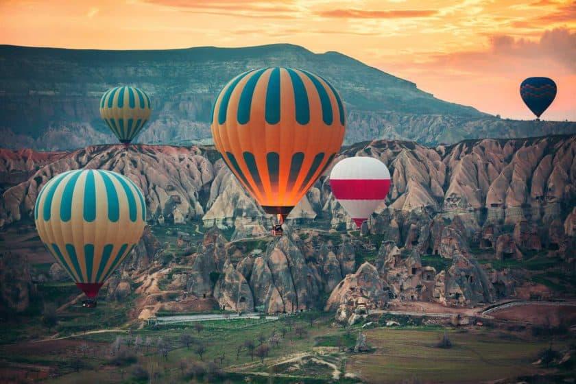 Heissluftballons Cappadocia bei Kayseri