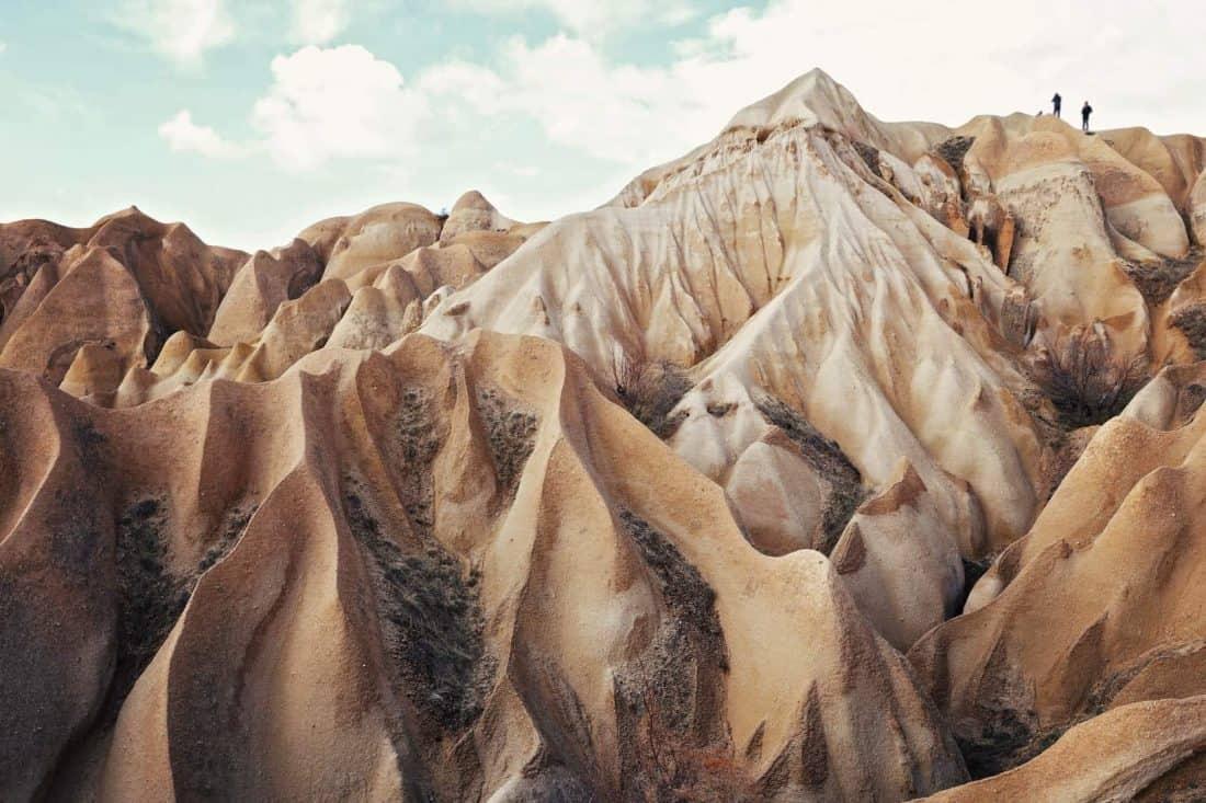 Cappadoccia Landschaft in der Türkei bei Kayseri