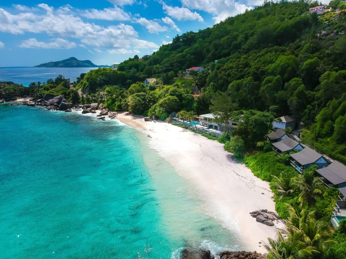Carana Beach Hotel Drone
