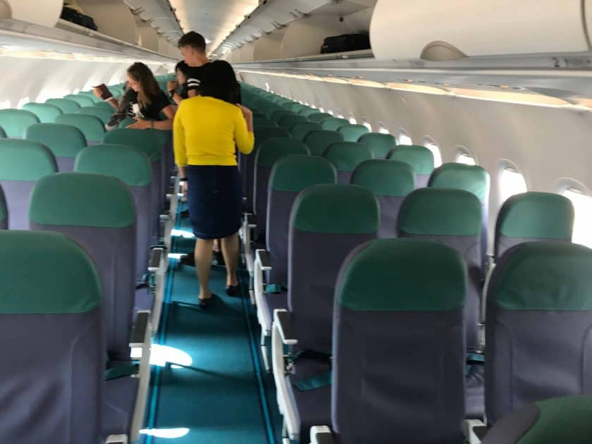 Cebu Pacific Review Cabin