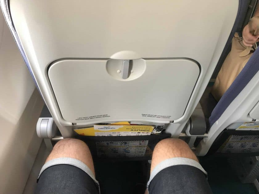 Cebu Pacific Review Seat Space